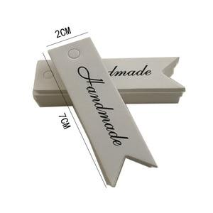 Image 5 - 100Pcs Kraft Papier Ornament Label Prijs Tags Wedding Christmas Party Favor Gift Card Goederen Bagage Tags Verpakking Labels