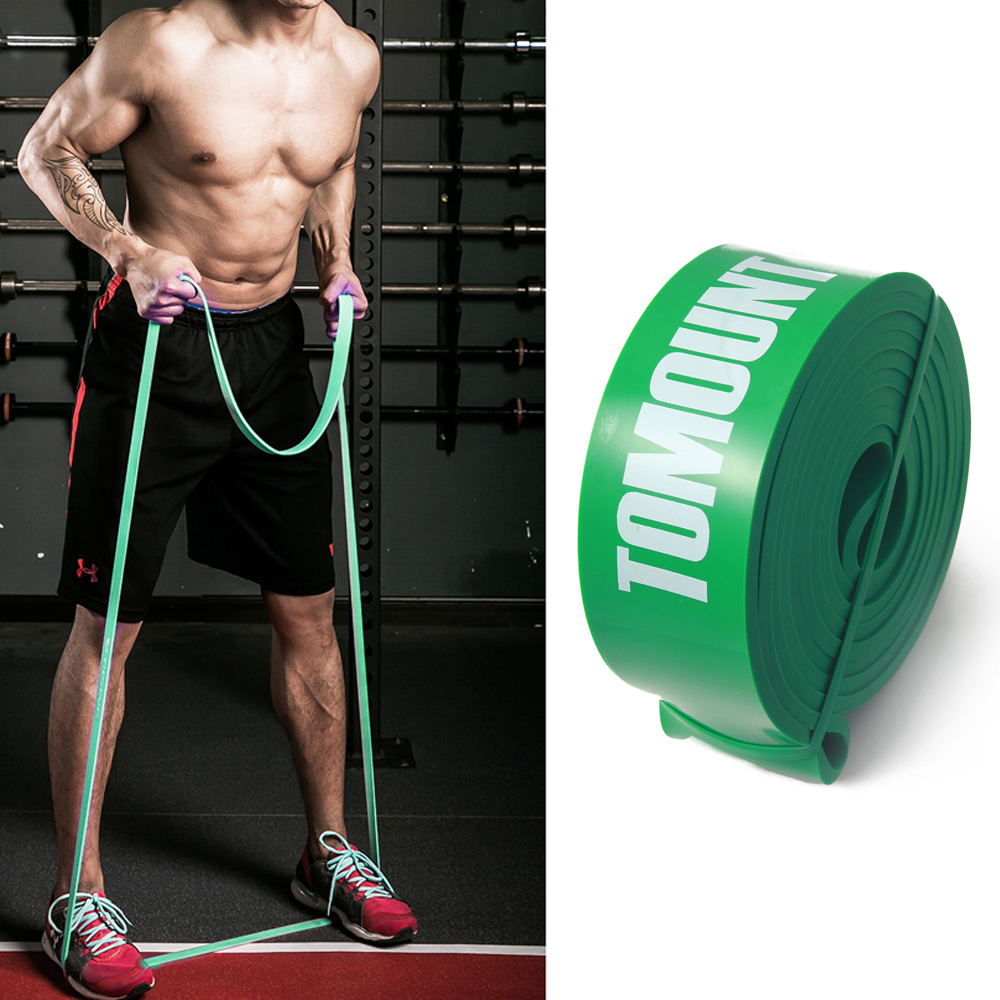 Crosstrainer Premium Exercise Band... Ausdauertraining Tnt Pro Series Workout Resistance Loop Bands For Legs