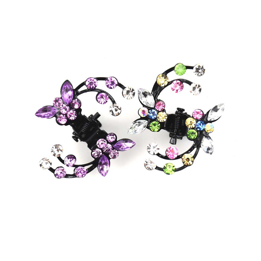 6pcs/set Mini Hairpins Hair Claw Clips Gripper Clamps Butterfly Hairgrip Barrette Set Crabs For Hair Accessories For Women