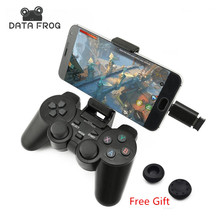 Android Беспроводной геймпад для телефона Android/PC/PS3/TV Box джойстик 2.4 г джойстика игровой контроллер для Xiaomi смартфон