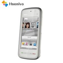 Remise à neuf D'origine 5233 Débloqué Nokia 5233 mobile téléphone noir et blanc couleur pour vous choisir Rénové