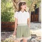 Новое поступление женские кружевные рубашки 2019 Осень Женская открытая рубашка A797 - 2