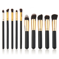10 Pieces Makeup Brush Set Cosmetic Brushes Professional Cosmetic Tools Hot Drop Shipping Wholesale