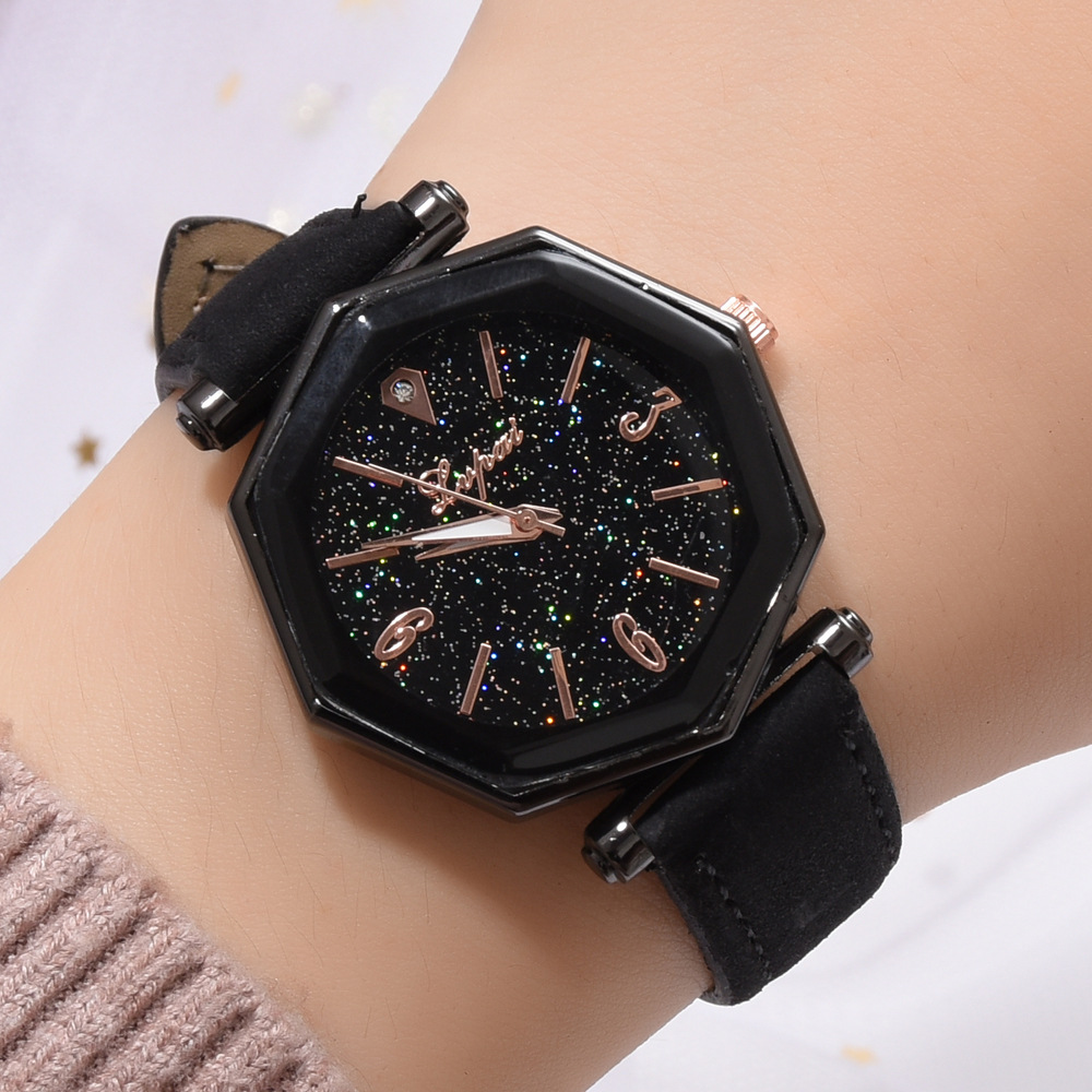Fashion 2019 Leather Women Watches Luxury Brand Casual Ladies Quartz Clock Wristwatches Clock Montre Femme Relojes Para Mujer