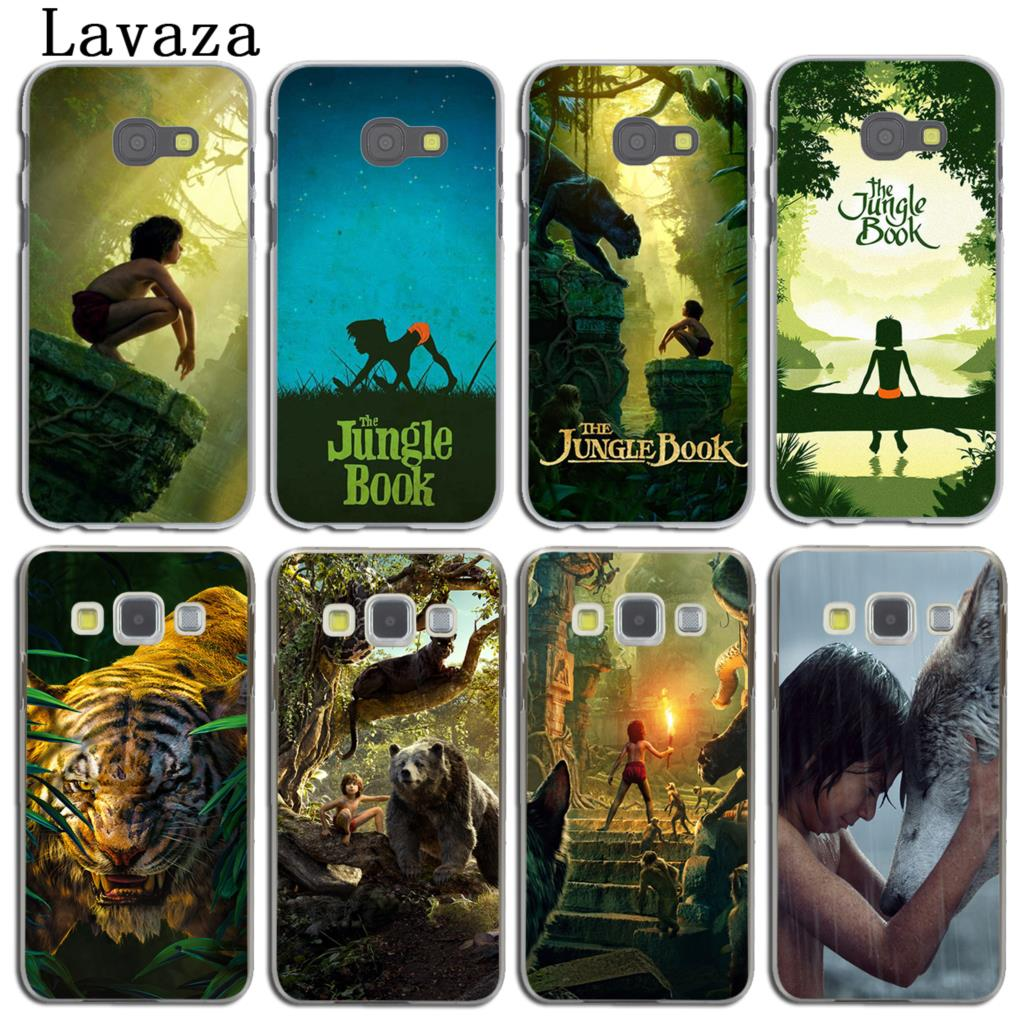 Lavaza The Jungle Book Phone Cover Case for Samsung Galaxy A3 A7 A8 A5 2015 2016 2017 2018 Note 8 5 4 3 Grand 2 Prime