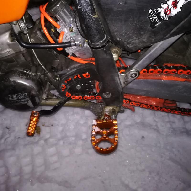 MX жарыстарға арналған педальдар - Мотоцикл аксессуарлары мен бөлшектер - фото 2