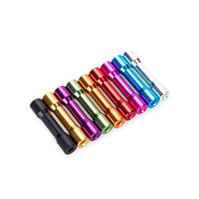 10Pcs M3 25mm Aluminum Alloy Standoff Spacer Round Column MultiColor Smooth Surface New(China)