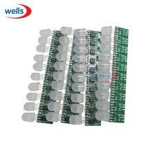 Hot sell 10-50pcs 12mm Non-waterproof 5V WS2811 Pixel node Module Light No Wire Addressable