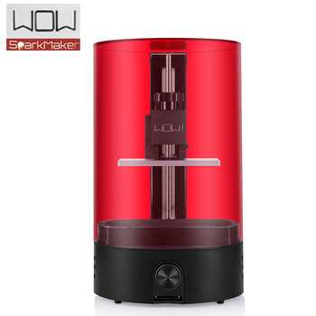 LCD 3d printer WOW sparkmaker light curing UV Resin SLA ! DLP ! LCD 3d printer/express shipping from Moscow Russian warehouse