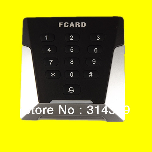 13.56Mhz wiegand26/WG34 dual Led 9V 12V epoxy packaged RF contactless keypad pincode Mifare1 IC card KO Knock out box READER цены онлайн