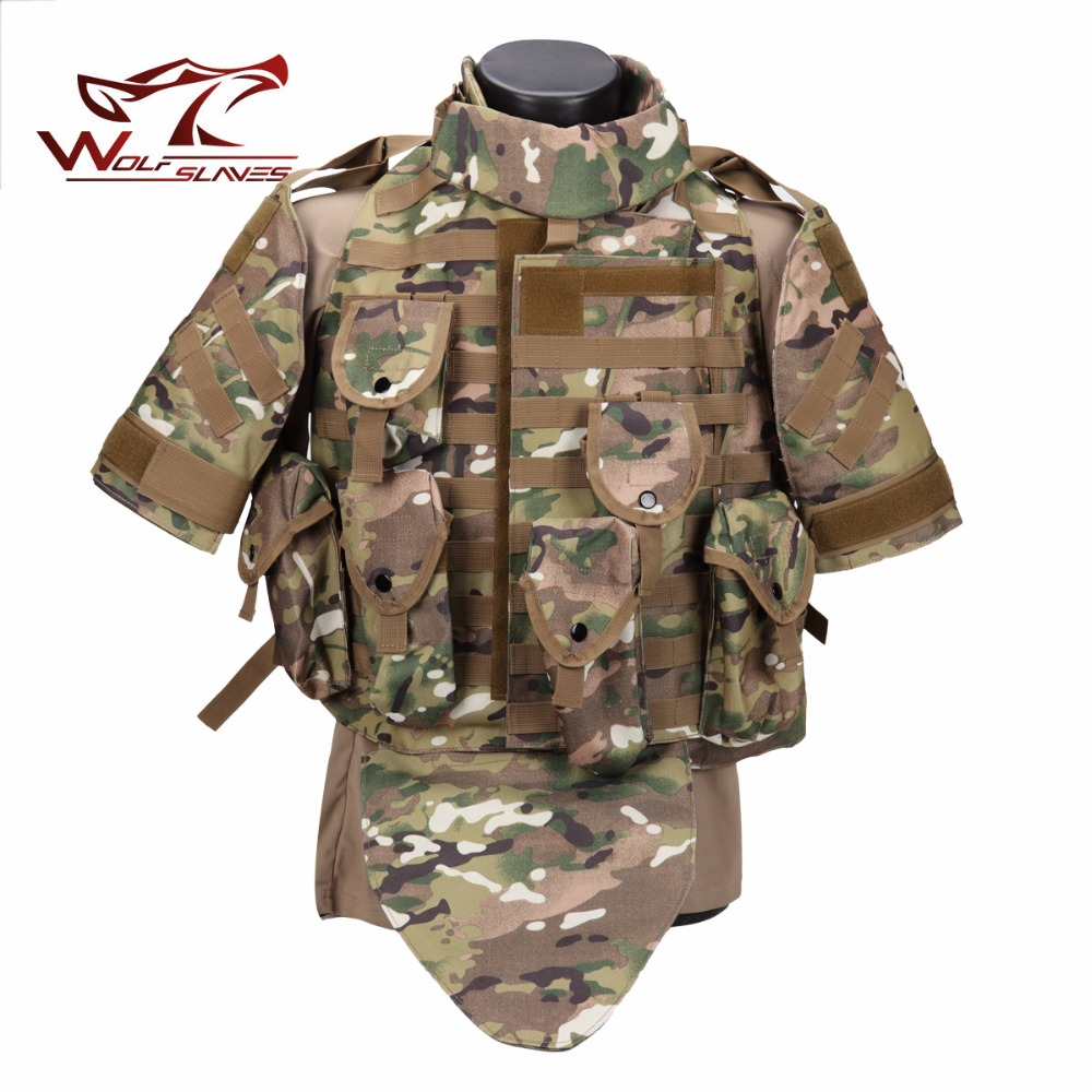 Interceptor OTV Bulletproof Vest CS Multifunction Vest Tactical Combat Camouflage Super Protective Vest Combat Tactical Vest цена и фото