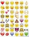 4 шт. весело мило прекрасный Emoji стикер 192 вырубной Emoji усмешки виниловая наклейка для iPhone ноутбука планшет декор Twitter Instagram