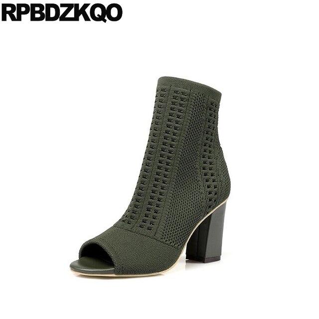 Ponerse Sandalias Tramo Diseñador De Zapatos Mujer Lujo 2017 Tejer ...