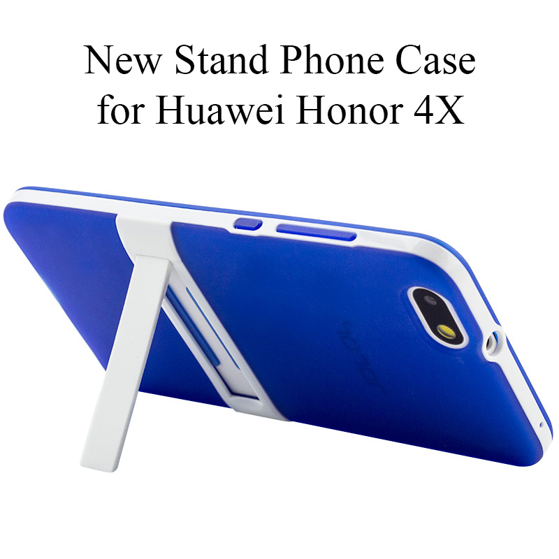 Brand New Kickstand for Huawei Honor 4X Case Cover 5.5 TPU PC Full Protective Phone Back Cover Case for Huawei Honor 4X Armor ...