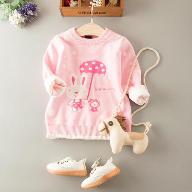 efc35a657 Children girls sweaters autumn Sweater for girl kids Tops Knitting ...