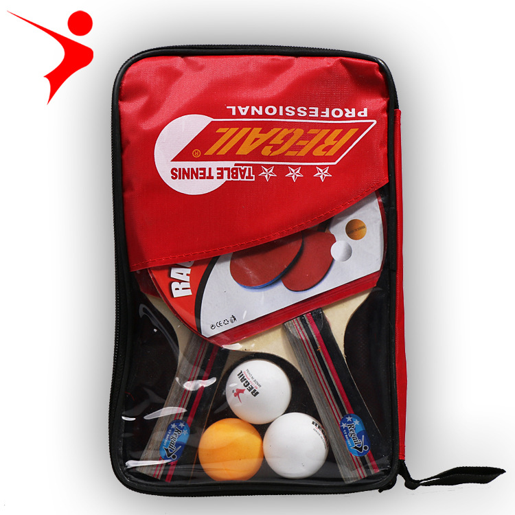 Gewissenhaft Horizontale Grip Shake-hand Grip Tischtennisschläger Ping Pong Paddel-schläger Pickel In Ping Pong Schläger Racket Pouch 1 Para Ball