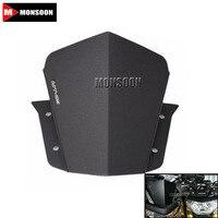 For YAMAHA FJ 09 MT 09 Tracer 2015 Motorcycle Accessories Windscreen Windshield Bracket Black