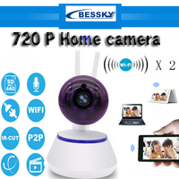 720P HD Wifi Camera Network Surveillance Night Camera Indoor Home P2P CCTV Camera Wifi Function Onvif
