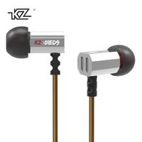 KZ ED9 Transparent Sound Earphone 3 5mm In Ear Bass Stereo Music Earbuds Mini Headset Earpiece