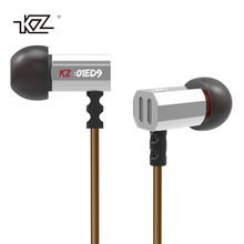 Discount! KZ ED9 Transparent Sound Earphone 3.5mm In-Ear Bass Stereo Music Earbuds Mini Headset Earpiece for Mobile Phone Tablets PC