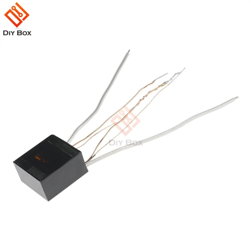 US $0 49 11% OFF|15KV Arc Ignition High Voltage Inverter Step Up Boost Coil  Transformer Pulse Ignition 1 4x1 4x0 7cm Lighter Accessories-in