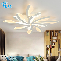 Acrylic Modern led ceiling lights for living room bedroom light fixtures