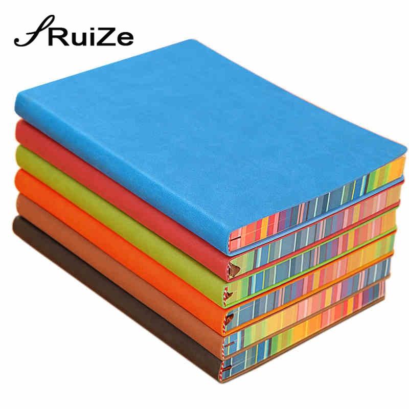 RuiZe měkký obal kreativní notebook kožený žurnál deník - Bloky a záznamní knihy - Fotografie 6