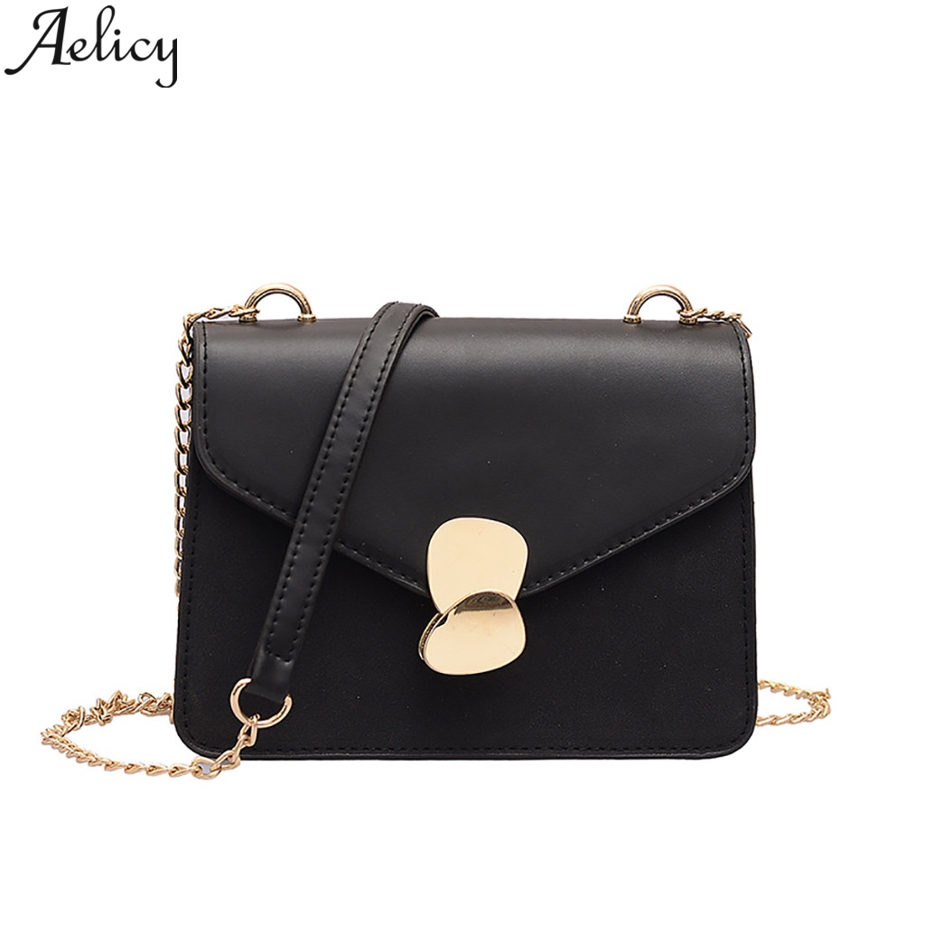Aelicy 2019 Fashion Women Wild Chain Small Square Bag Shoulder Bag Messenger Bag Crossbody Bags Leather Purses And HandbagsAelicy 2019 Fashion Women Wild Chain Small Square Bag Shoulder Bag Messenger Bag Crossbody Bags Leather Purses And Handbags