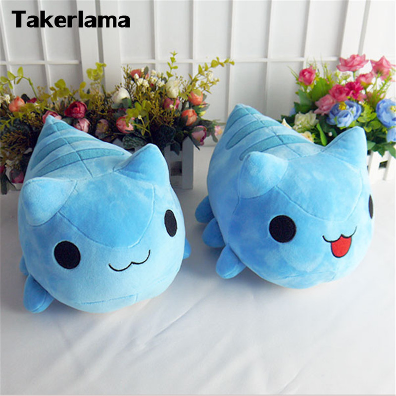 Takerlama Doll Cosplay Bugcat Capoo Blue Cute Prop Stuffed Plush Gift Cat-Toy Cartoon