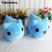 Takerlama Bugcat Capoo косплей синий милый игрушечный Кот, плюшевая кукла из мультфильма, подарок