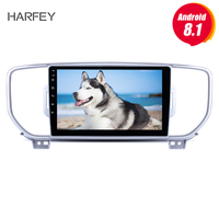 Harfey 9 inch HD Touchscreen Android 8.1 Radio for KIA KX5 2016 2017 Sportage with GPS car multimedia player Bluetooth Aux USB