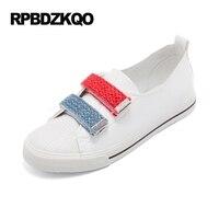 Platform Rope Korean Round Toe White Cheap Shoes China Women Slip On Ladies 2017 Flats Size