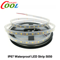 IP67 Waterproof 5050 LED Strip DC12V 60 LED/M High Quality Silicon Tube Waterproof LED Strip.