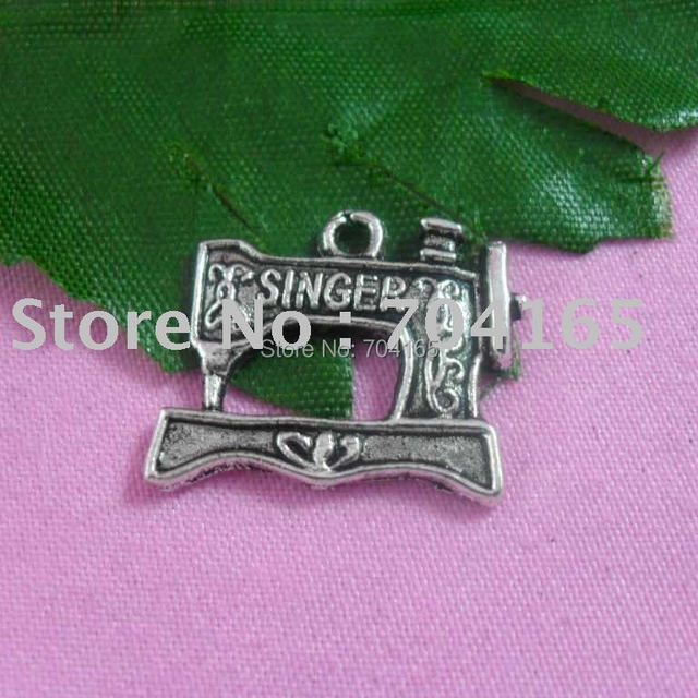 Free shipping hot sale tibetan silver antique silver sewing charms 80pcs/lot
