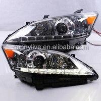 Для Toyota Lexus ES350 EX350 2007 2012 год светодиодный головной плюс бампер в сборе