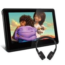 10.1 inchTFT Pantalla Táctil de HD 1024*600 de Calabaza Coche Reposacabezas Monitor Reproductor de DVD HDMI Puerto USB SD TV 1080 P IR Juegos