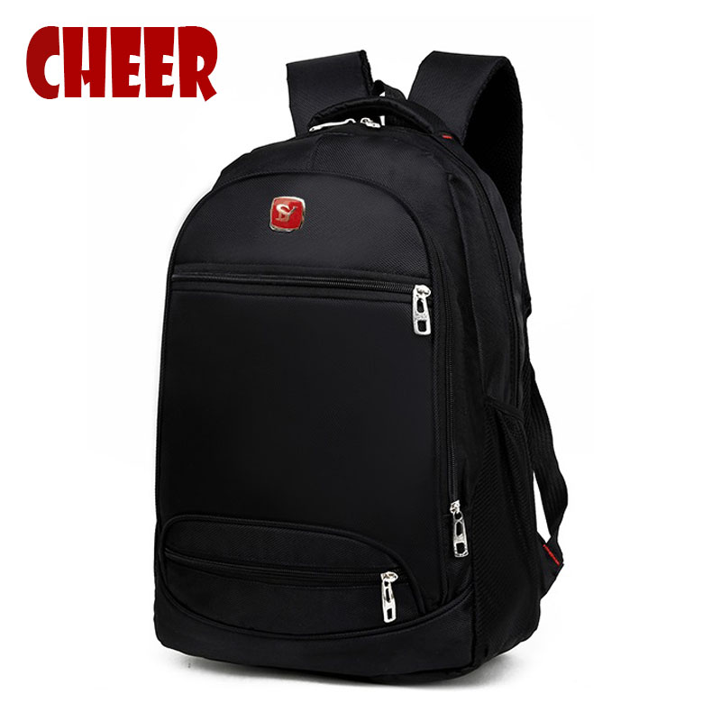 2017 Men's Backpacks Bolsa Mochila for Laptop 14-15Inch Notebook Computer Bags Men Backpack School Oxford Black For Teenagers jacodel laptop bagpack 15 inch notebook backpack travel case computer pc bag for lenovo asus dell notebook 15 6 inch school bags