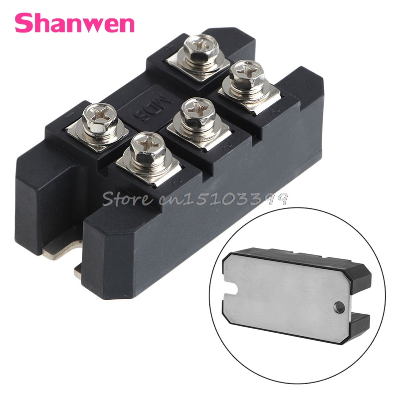 MDS 150A 1600V Three-phase Diode Bridge Rectifier Module Board MDS150A #G205M# Best Quality saimi skd160 08 160a 800v brand new original three phase controlled rectifier bridge module