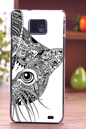huge selection of c15a5 7653b US $1.19 34% OFF|cute animal design cell phone skin diy pattern Phone Case  Back Cover for smartphone Samsung s2-in Half-wrapped Cases from Cellphones  ...