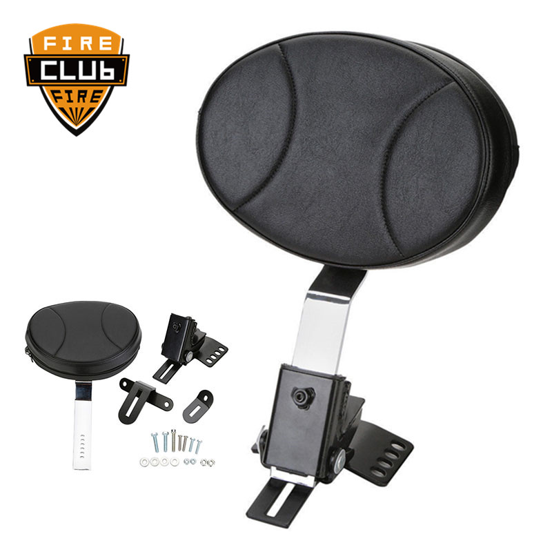 For Harley Touring Electra Road Street Glide Road King 97-17 16 Motorcycle Adjustable New Plug In Driver Rider Seat Backrest Kit