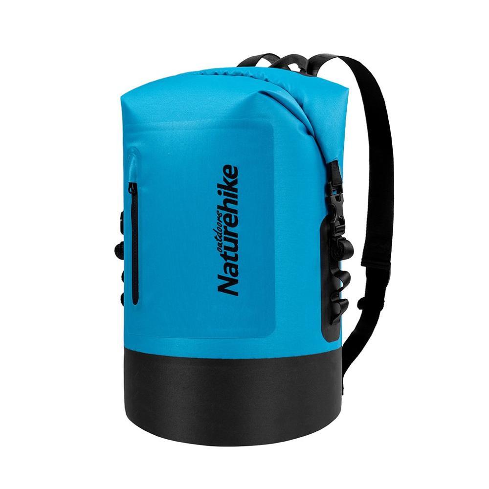 20L 30L 40L TPU sec séparation humide Trekking dérive sceau Rafting sac Double sangles sec natation étanche sac avec poche
