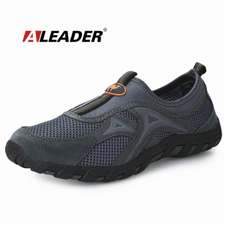 mens breathable outdoor shoes 2015 summer cool slip