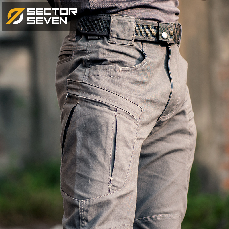 Image 3 - IX8 Waterproof tactical War Game Cargo pants mens silm Casual Pants mens trousers Army military Active pants-in Casual Pants from Men's Clothing