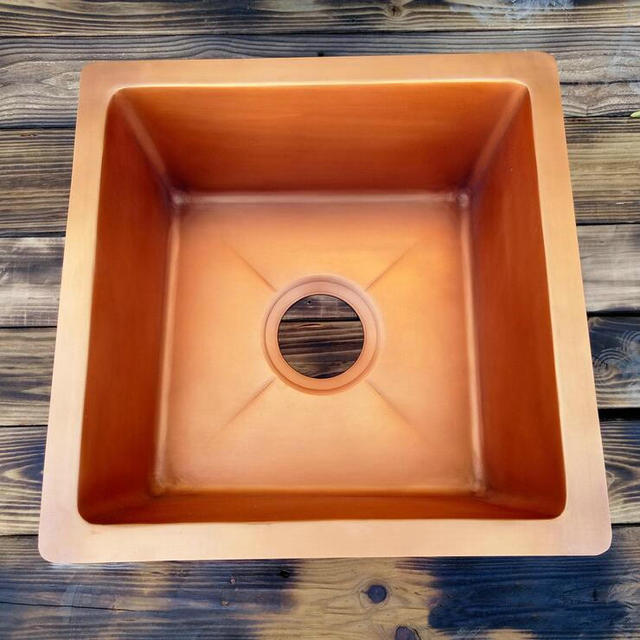 40x40x18cm Copper Single Bowl Drop In Kitchen Sink Bar Sinks From Home Improvement On Aliexpress Alibaba Group
