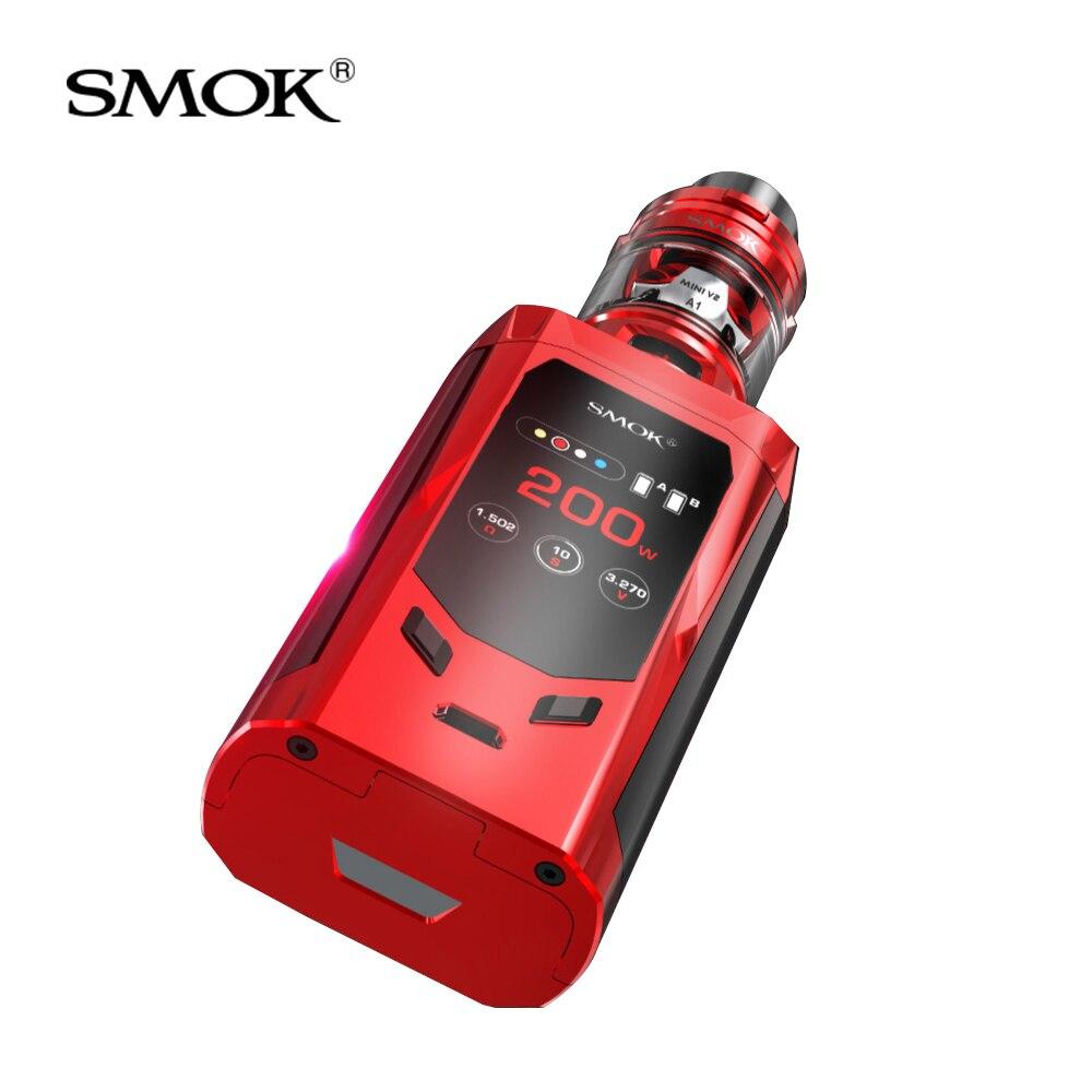 Kit Original SMOK r-kiss édition EU 200W + tfv-mini V2 réservoir 2ml + Mini V2 bobine pour cigarette électronique smok R Kiss kit vape - 4