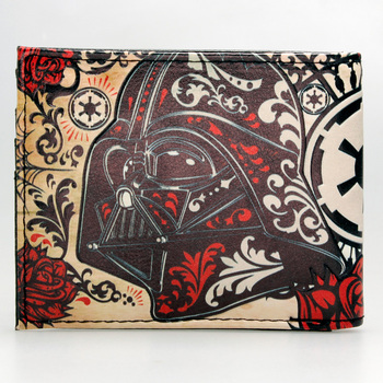 Кошелек Звездные воины Star Wars цветочный дизайн 1