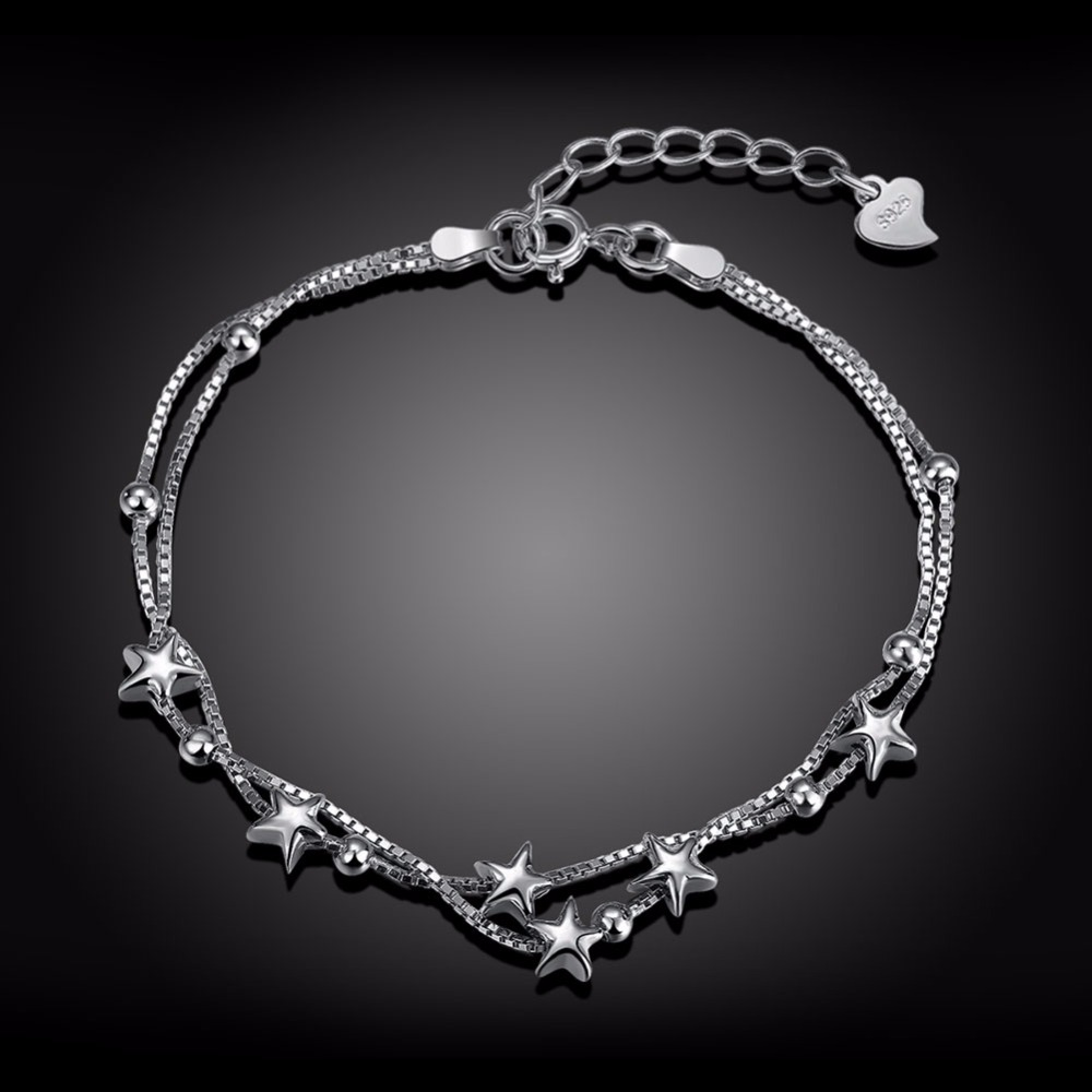 bracelet chrome online you fuck hearts store silver