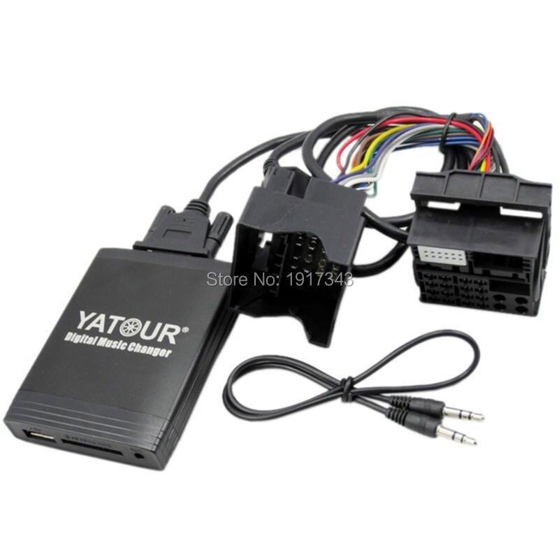 Yatour YT M06 автомобильный аудио для RD3 Peugeot Citroen RB2 RM2 MP3 плеер Bluetooth Радио адаптер цифровой музыкальный чейнджер - 3