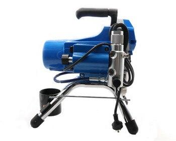 Pistola De Pintura Eléctrica | Pulverizador De Pintura Sin Aire Eléctrico Profesional Pistón Máquina De Pintura 390 395 Con Motor De 2200W Venta Directa De Fábrica