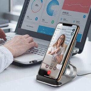 Image 5 - Kuulaaチーワイヤレス充電器 10 ワットiphone x xs 8 xrサムスンS9 xiaomi高速ワイヤレス充電ドックステーション電話ホルダー充電器